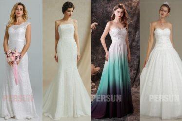 robe de mariée chic persun