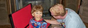 Poupée de ventriloque