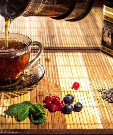 machines à thé