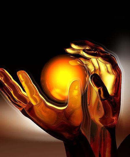 des mains magiques